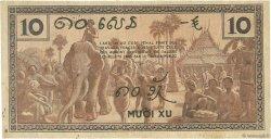 10 Cents INDOCHINE FRANÇAISE  1939 P.085d TTB