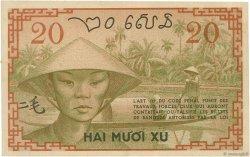 20 Cents INDOCHINE FRANÇAISE  1939 P.086a SUP+