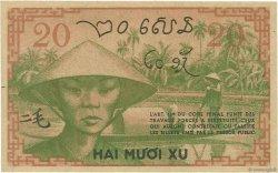20 Cents INDOCHINE FRANÇAISE  1939 P.086d pr.NEUF