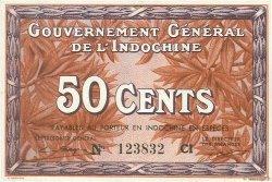 50 Cents INDOCHINE FRANÇAISE  1939 P.087d pr.NEUF