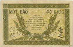 10 Cents INDOCHINE FRANÇAISE  1942 P.089a TTB