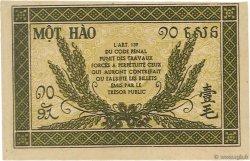 10 Cents INDOCHINE FRANÇAISE  1942 P.089a SUP