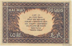 20 Cents INDOCHINE FRANÇAISE  1942 P.090 pr.NEUF