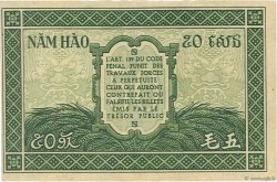 50 Cents INDOCHINE FRANÇAISE  1942 P.091a SUP