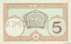 5 Francs NOUVELLE CALÉDONIE  1926 P.36as SUP+