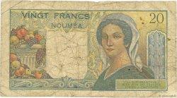 20 Francs NOUVELLE CALÉDONIE  1954 P.50c B