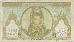 100 Francs NOUVELLE CALÉDONIE  1953 P.42c TB