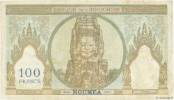 100 Francs NOUVELLE CALÉDONIE  1963 P.42e TB+
