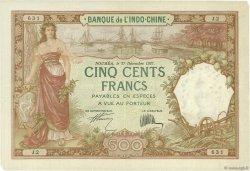 500 Francs NOUVELLE CALÉDONIE  1927 P.38 TTB