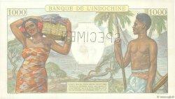 1000 Francs NOUVELLE CALÉDONIE  1938 P.43as pr.SUP