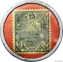 25 Centimes NOUVELLE CALÉDONIE  1922 P.28 TTB
