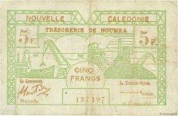 5 Francs NOUVELLE CALÉDONIE  1943 P.58 TB+