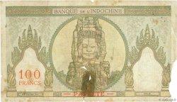 100 Francs TAHITI  1961 P.14d AB