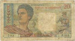 20 Francs TAHITI  1963 P.21c B