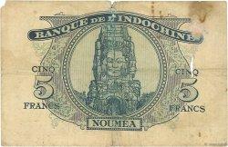 5 Francs NOUVELLES HÉBRIDES  1945 P.05 B+
