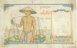 1 Piastre INDOCHINE FRANÇAISE  1953 P.092 TTB
