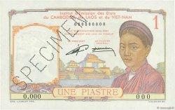 1 Piastre INDOCHINE FRANÇAISE  1953 P.092s pr.NEUF