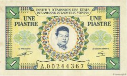 1 Piastre - 1 Riel INDOCHINE FRANÇAISE  1953 P.093 TTB+