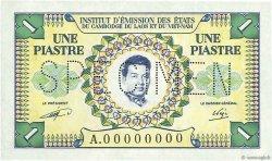 1 Piastre - 1 Riel INDOCHINE FRANÇAISE  1953 P.093s NEUF