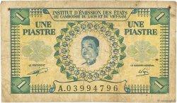 1 Piastre - 1 Kip INDOCHINE FRANÇAISE  1953 P.099 B