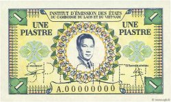 1 Piastre - 1 Dong INDOCHINE FRANÇAISE  1953 P.104s NEUF