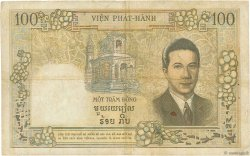 100 Piastres - 100 Dong INDOCHINE FRANÇAISE  1954 P.108 TB