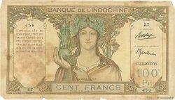 100 Francs DJIBOUTI  1931 P.08 AB