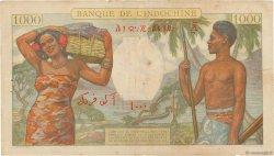1000 Francs DJIBOUTI  1938 P.10 pr.TTB