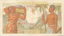 1000 Francs DJIBOUTI  1938 P.10 TTB+