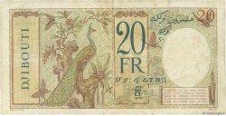20 Francs DJIBOUTI  1943 P.12A pr.TTB