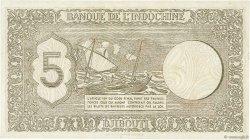 5 Francs DJIBOUTI  1945 P.14 TTB