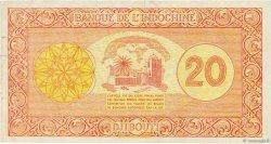 20 Francs DJIBOUTI  1945 P.15 TTB