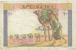 10 Francs DJIBOUTI  1946 P.19 TTB