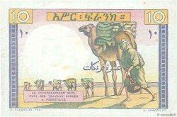10 Francs DJIBOUTI  1946 P.19 SUP