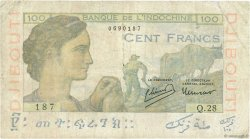 100 Francs DJIBOUTI  1946 P.19A TB