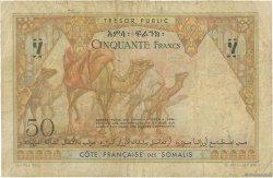 50 Francs DJIBOUTI  1952 P.25 B