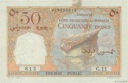 50 Francs DJIBOUTI  1952 P.25 TTB