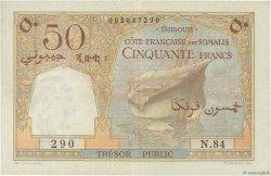 50 Francs DJIBOUTI  1952 P.25 TTB+