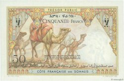 50 Francs DJIBOUTI  1952 P.25 SPL+
