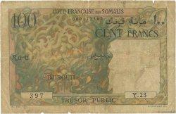 100 Francs DJIBOUTI  1952 P.26 AB