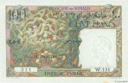 100 Francs DJIBOUTI  1952 P.26 SUP