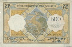 500 Francs DJIBOUTI  1952 P.27 TB+