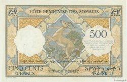 500 Francs DJIBOUTI  1952 P.27 pr.NEUF
