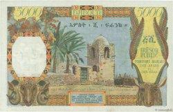 5000 Francs DJIBOUTI  1969 P.30 TTB à SUP