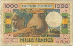 1000 Francs DJIBOUTI  1974 P.32 AB