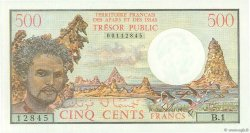 500 Francs AFARS ET ISSAS  1975 P.33 NEUF