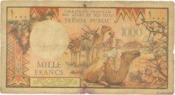 1000 Francs DJIBOUTI  1975 P.34 AB