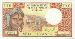 1000 Francs DJIBOUTI  1975 P.34 NEUF