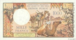 1000 Francs AFARS ET ISSAS  1975 P.34s SUP+