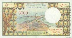 5000 Francs AFARS ET ISSAS  1975 P.35s SUP+
